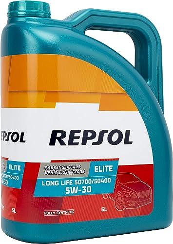 Repsol Elite Long Life 50700/50400 5W30 Huile Moteur 5L