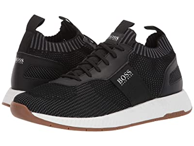 BOSS Hugo Boss Titanium Sneaker by BOSS (Black) Men