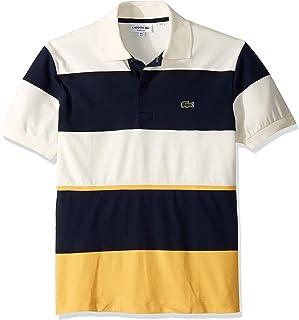 Lacoste Men's S/S Technical Pique Colorblock Polo