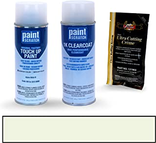 PAINTSCRATCH Alpine White Iii 300 for 2015 BMW Alpina - Touch Up Paint Spray Can Kit - Original Factory OEM Automotive Paint - Color Match Guaranteed