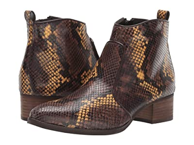 Paul Green Bryce Boot (Marigold Snake) Women