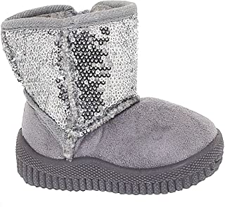 Toddler Sparkly and Sassy Sequin Bootie