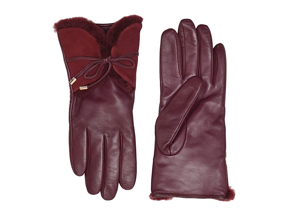 Vintage Style Gloves- Long, Wrist, Evening, Day, Leather, Lace UGG Combo Sheepskin Trim and Leather Tech Gloves Port Extreme Cold Weather Gloves $129.95 AT vintagedancer.com