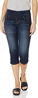 Women's Sculpting Pull on Capri Jean
