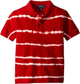 Tie-Dye Cotton Mesh Polo (Toddler)