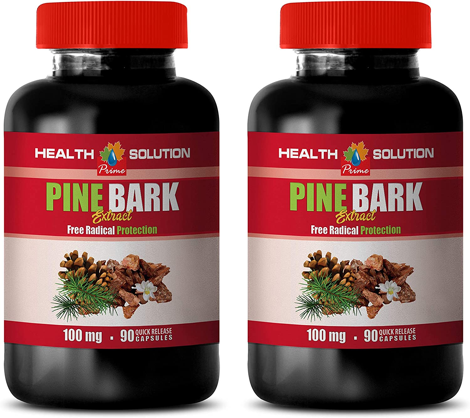 Anxiety Pills NEW before selling for Women - Cholesterol Over item handling BARK Extract Lower Pine