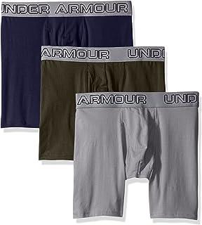 "Under Armour mens Under Armour Men's Charged Cotton Stretch 6""  Boxerjock - 3-pack Under armour men's cotton stretch 6'' 3..."