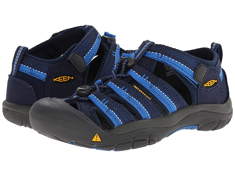 Keen Kids Newport H2 (Little Kid/Big Kid) (Dress Blue/Daphne) Boys Shoes