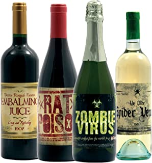 Halloween 2 Slapsticker Wine Bottle Labels