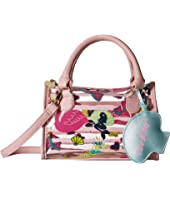 Luv Betsey Sydney Clear Mini Barrel Satchel