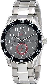 ساعة اوكتان متعددة الوظائف ذات المينا الرمادية للرجال من تيتان