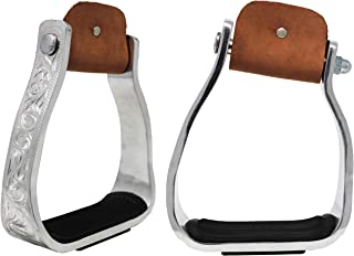 twisted aluminum stirrups