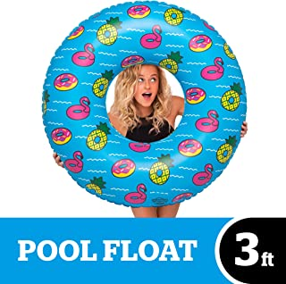 BigMouth Inc Giant Inflatable Party Pool Tube - Hilarious 3 Foot Inflatable Pool Float, Easy to Wipe Down, Inflate/Deflate, Transport, and Store - Perfect for Pool Parties and Beach Days
