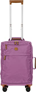 Bric's X-Bag/X-Travel 21 Inch International Carry on Spinner W/Frame, Wisteria (Purple) - BXL48117
