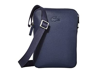 Lacoste Chantaco Vertical Camera (Marble/Cliff/Cliff) Handbags
