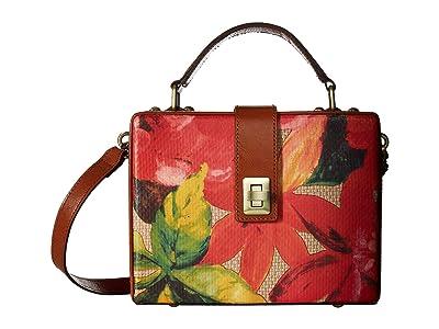 Patricia Nash Straw Tauria Frame Bag (Spring Multi) Shoulder Handbags