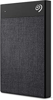Seagate Ultra Touch HDD 2TB External Hard Drive – Black USB-C USB 3.0, 1yr Mylio Create, 4 month Adobe Creative Cloud Phot...