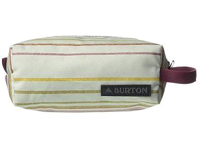 Burton Accessory Case (Aqua Gray Revel Stripe Print) Wallet