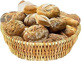 "DMAR Bread Basket for Serving Set - 11.8"" Wicker Bread Serving Basket for Homemade Sourdough Bread or Rolls Fruit and Pant..."