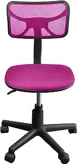 Urban Shop Swivel Mesh Task Chair, Pink