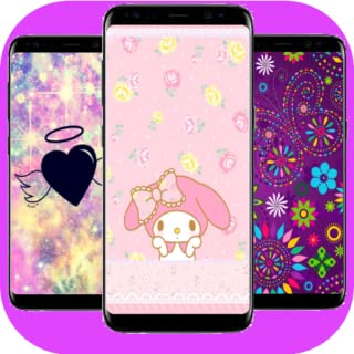 Wallpapers for girls:Cute glitter backgrounds & lock screens