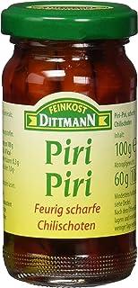 Feinkost Dittmann Piri-Piri, Feurig scharfe Chillischoten, 6er Pack 6 x 100 g