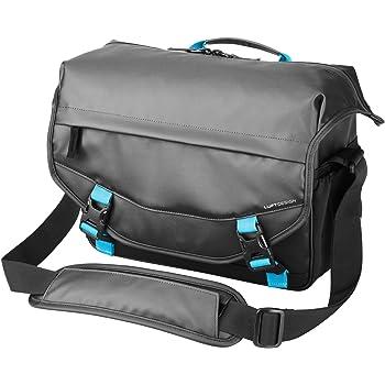 HAKUBA カメラバッグ ルフトデザイン レジスト ショルダーバッグL 10.1L 耐水/防汚機能 ブラック SLD-RS-SBLBK