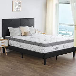 PrimaSleep 12 Inch Multi-Layered Hybrid Euro Box Top Spring Mattress/Non Weaving/Innerspring Full
