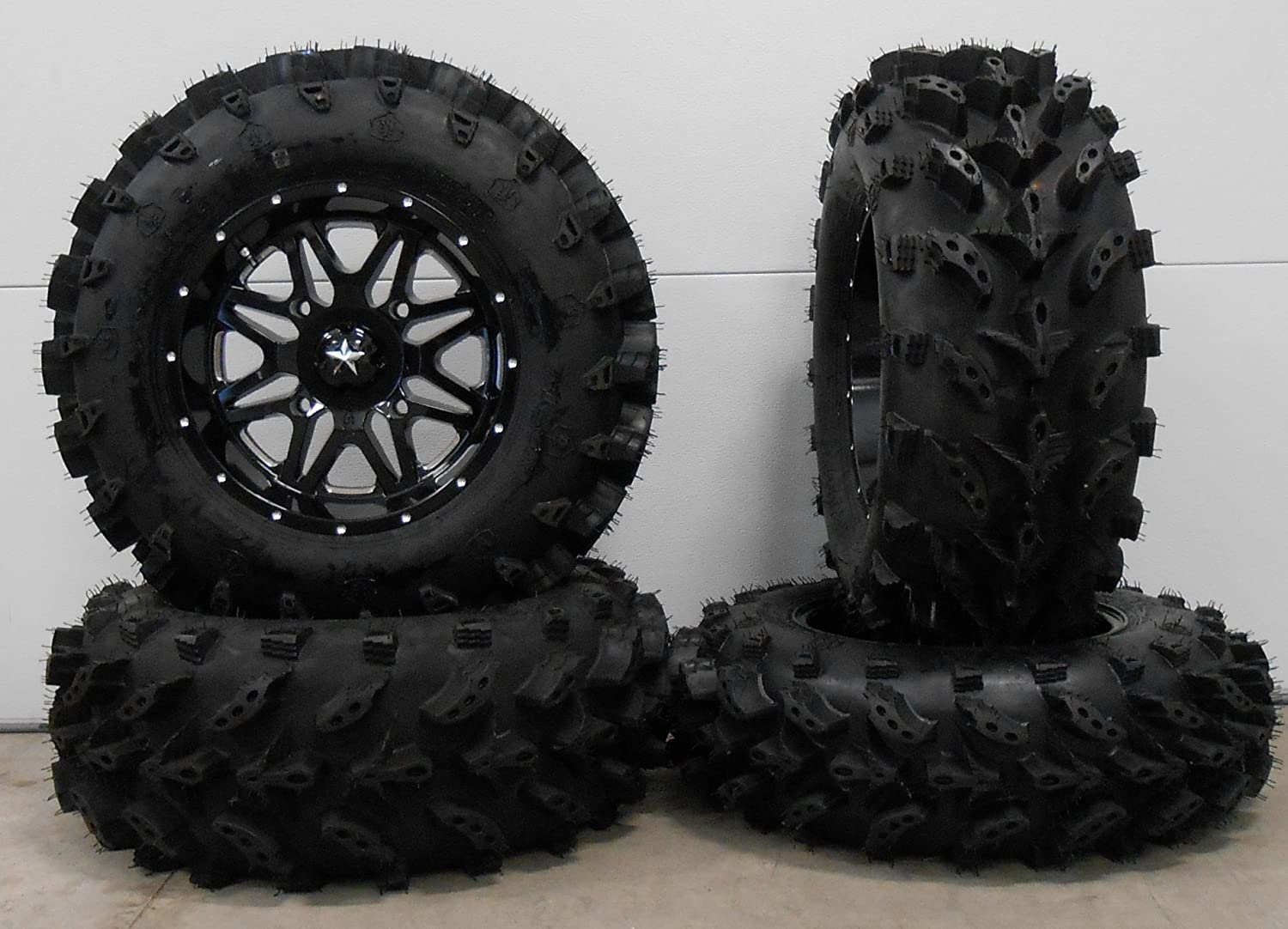Bundle - 9 Items: MSA Black Vibe Wheels Outlet ☆ Popular brand in the world Free Shipping T Lite 14