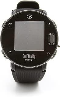Golf Buddy Voice x with Wristband, Black