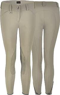 Pikeur Ciara Knee Patch Breeches - Safari Tan (28R)