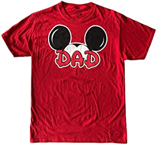 Disney Tee Men's T-Shirt Dad Fan Fashion Top