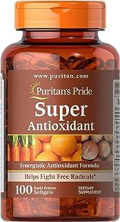 Puritan's Pride Formula, Softgels by Super Antioxidant 100 Count