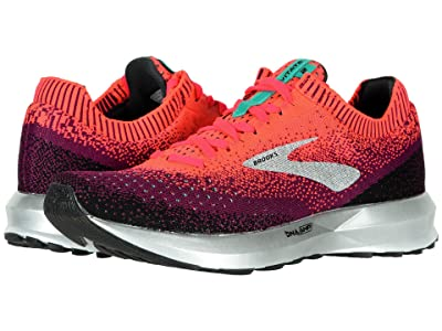 Brooks Levitate 2 (Pink/Black/Aqua) Women
