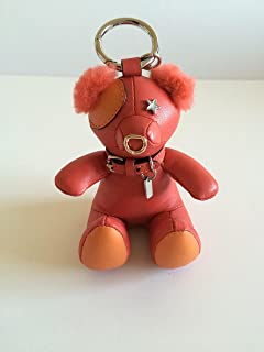 COACH Leather Limited Edition 2016 Holiday Bear Bag Charm