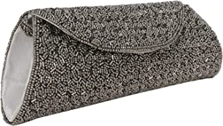 Indian Beaded Sizzling Rajasthani Style Hand-Cum-Wedding Clutch for Women & Girls