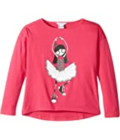 Little Marc Jacobs - Long Sleeve T-Shirt (Little Kids/Big Kids)