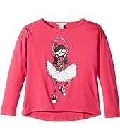 Little Marc Jacobs - Long Sleeve T-Shirt (Little Kids/Big Kids)