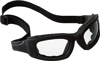 3M Maxim 2x2 Safety Goggles 40696-00000 Clear Anti-Fog Lens, Black Frame, Strap, Side Venting