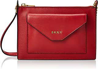 DKNY Womens Crossbody, Red (Bright Red) - R93E3D59