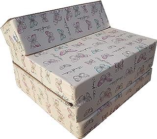 Matelas lit fauteuil futon pliable pliant choix des couleurs - longueur 200 cm (001)