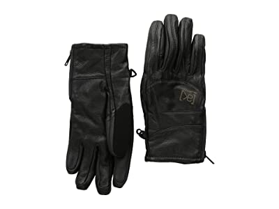 Burton [ak] Leather Tech Glove (True Black) Extreme Cold Weather Gloves