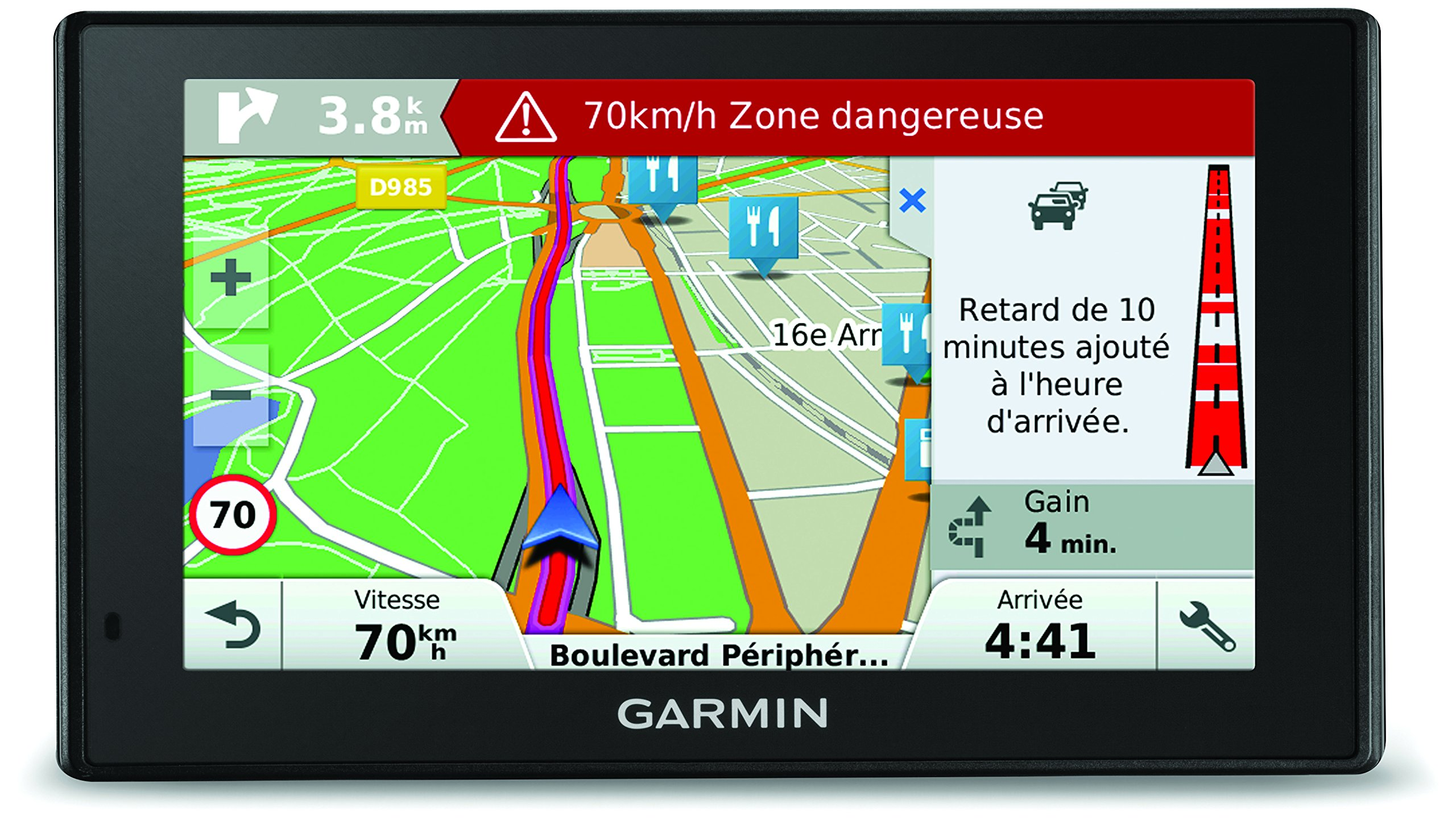 Garmin DriveSmart 50 We LM - Navegador GPS mapas de por Vida (Pantalla de 5