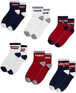 Levi's Kid's Mid Cut Ankle Socks