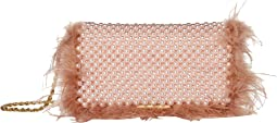 Mimi Beaded Clutch with Chain Strap
