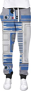 Rainbow Rules Little Blue Droid Cuffed Joggers Sweatpants Jogging Bottoms