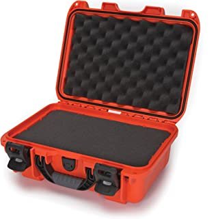 Nanuk 915 Waterproof Hard Case with Foam Insert - Orange - Made in Canada
