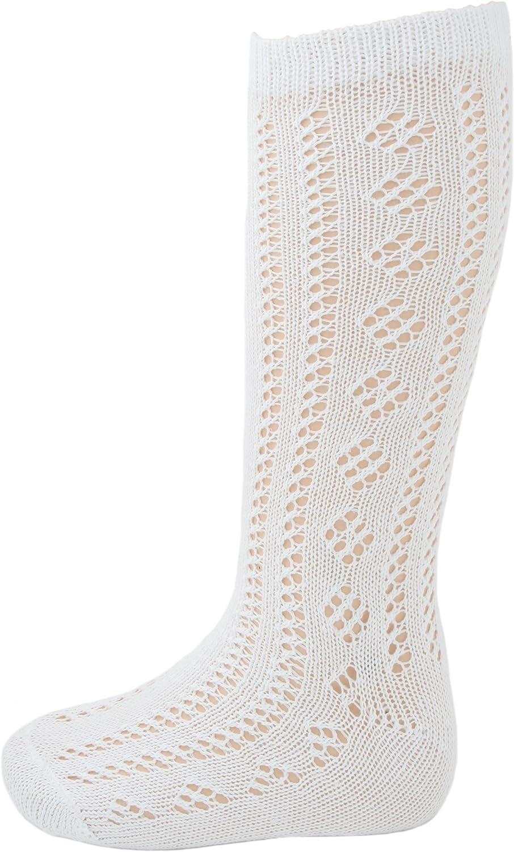Girls Long Length Knee High 84/% Cotton Traditional Pelerine School Socks 3 Pairs