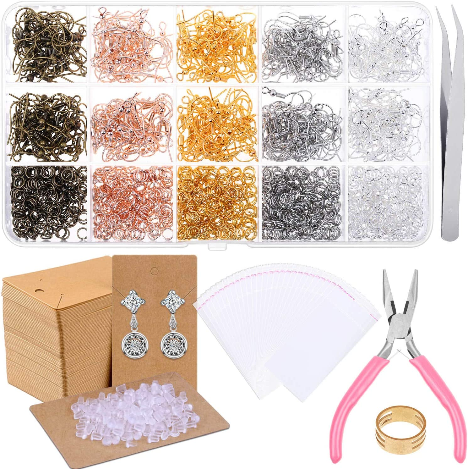 Fish Hook Earrings for Jewelry Making Special price a limited time Popular overseas Earring Paxcoo 2200pcs Ma