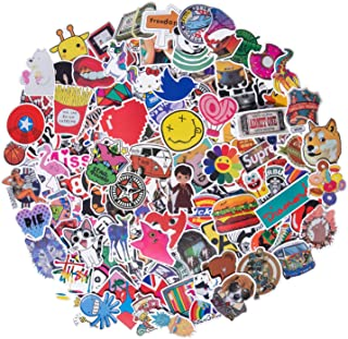 Roberly Cool Stickers 300pcs Mixed Waterproof Vinyl Stickers for Water Bottles Laptop Stickers Cars Motorbikes Bicycle Skateboard Luggage Phone Ipad Graffiti Decals Stickers for Teens